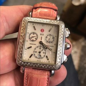 Michele Deco 18mm face watch!!!